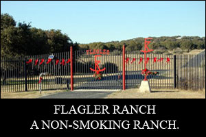 Flagler Ranch is a non-smoking ranch